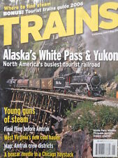 TRAINS The Magazine of Railroading n° May 2006 - Alaska's White Pass & Y [TR.33]