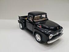 1956 Ford F-100 Pickup Black kinsmart Toy car model 1/38 scale diecast new