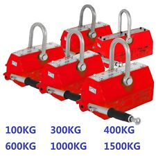 Lifting Magnet Permanent Magnetic Hoist Crane Lifter Steel Magnet 100KG-600KG AU