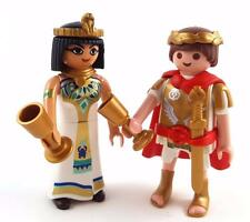 ROYAL COUPLE / CLEOPATRA & ROMAN SOLDIER / EGYPTIAN History Figures Playmobil