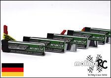 5x Turnigy nano-tech 600mah 1S 35~70C NEU Lipo Akku 3,7V Blade 120 SR MQX
