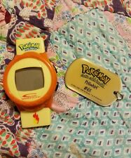 1998 POKEMON dogtag digital watch Poliwhirl #61 dog tag vintage 90s 1990s