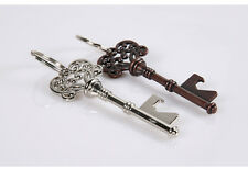 Novelty Metal Vintage Key Opener Beer Bottle Opener Tool Keychain Bar Utensil