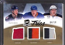 2010-11 Upper Deck The Cup Trios Patch Relic #C3-NY Nino Niederreiter No 4 of 10