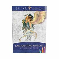 Selina Fenech Adult Girls Colouring Book Enchanting Fantasy Mermaid Art Therapy