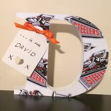 Dad, Daddy, Step Dad Or Name Any Letter/Number Sheffield Steelers Valentines