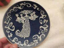 royal copenhagen 1972 mothers day 6 inch plate