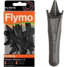 6 x Genuine Flymo Plastic Strimmer Blades Micro Compact 30 330 MC30 (5127557-00)