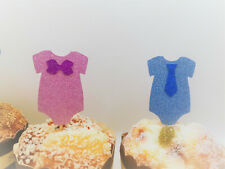 Gender Reveal Cupcake Topper Baby Shower Cupcakes Gender Reveal Party Boy orGirl
