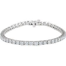 Diamante Tenis Brazalete en 18ct Oro Blanco ( 7.00Ct. TW