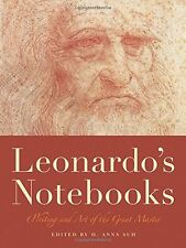 Leonardo`s Notebooks: Writing and Art of the Great Master by Leonardo da Vinci,