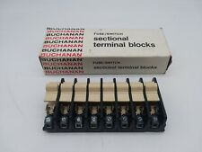 Buchanan 352 Fuse/Switch Sectional Terminal Blocks (Box of 8)