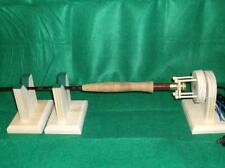Rod Dryer with  2 stands 18 rpm perfered buy fly Fishermen friction chuck