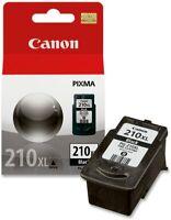 BRAND NEW SEALED CANON PIXMA 210XL BLACK INK CARTRIDGE PG-210XL