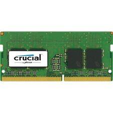 Crucial SODIMM 4GB DDR4 2400Mhz PC4-19200 CL17 CT4G4SFS824A Laptop RAM Memory