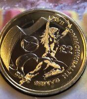 2002 Commonwealth Games Scotland 2 Pound In Brilliant Uncirculated  Condition