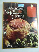 Vintage Montgomery Ward: Adventures in Microwave Cooking Binder Cookbook 1977
