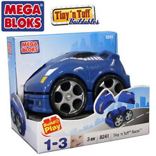 NEW IN BOX MEGA BLOKS 8241 Tiny n Tuff 8241 Racer Car 3 pieces