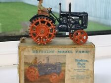 Britains 127f  Fordson Major tractor spud wheels with original box and Driver