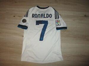 adidas REAL MADRID CF #7 RONALDO shirt 164 vintage oldschool retro camiseta FC