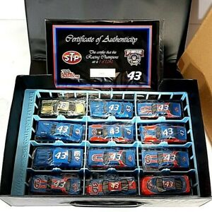 Vtg Racing Champions Petty Legends STP 43 Collector Set 50th 12 Car Case 1:64