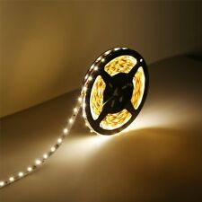 16.4ft/5m Warm White 3528 SMD Waterproof Led Strip Lamp Kitchen Under Cabinet
