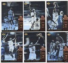Jordan Journals 1996 96-97  Insert Set of 6 MJ German Hologram Cards