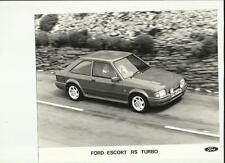 FORD ESCORT RS TURBO PRESS PHOTO 'BROCHURE RELATED'