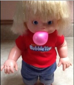 ~BUBBLE YUM BABY~Working to BLOW BUBBLES~Collector's Doll-Cleaned&Sanitized!!!!