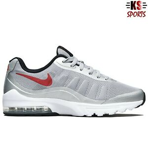 Nike Air Max Invigor 'Wolf Grey Red' Men's Running Shoes | 749680 004