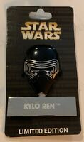 Disney Parks Pin of the Month LE 4000 Star Wars Helmet Standee Kylo Ren