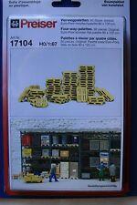 Preiser 17104 HO 1:87; Vierwegpaletten , OVP