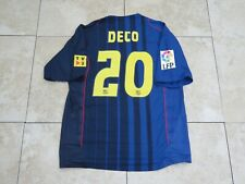 Deco Barcelona Porto Shirt Jersey Match Un Worn Player Issue La Liga 2004-2005