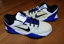 WORN ONCE Nike Zoom Kobe 7 VII System White Concord Size 6Y