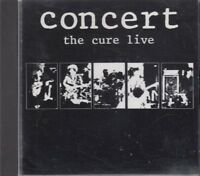 The Cure Concert Live CD French Pressing FASTPOST