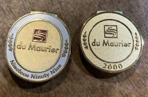 1999 & 2000 du Maurier Classic Money Clip LPGA Golf Karrie Webb Winner Mallon