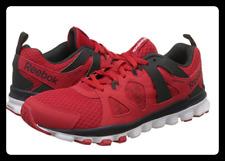 Reebok Hexaffect Run 2.0 Sneaker uomo NUOVE Red/bianco/Ghiaia UK 11.5