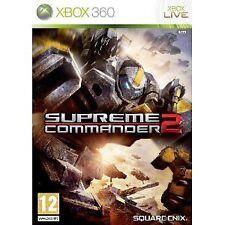 Xbox 360 juego Supreme Commander 2 nuevo & soldado