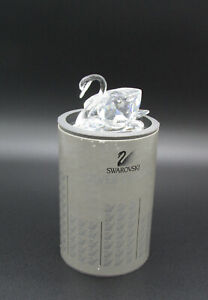 SWAROVSKI CRYSTAL LARGE SWAN A7633 NR 063 000 WITH BOX