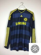 CHELSEA 09/10 BNWT *PLAYER ISSUE* L/S Away Football Shirt (XL) Jersey Formotion