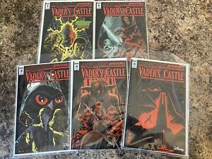 Star Wars Adventures Tales from Vader's Castle #1-5 IDW Comics