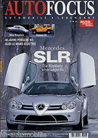 Auto Focus 6/03 2003 Rover 75 Tourer Hummer H2 Porsche 911 Ruf Adler SLR Escada