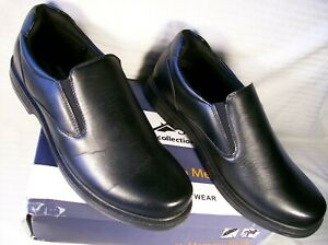 Deer Stags King Faux Leather Dress Loafers, US Men's 11.5M, NIB