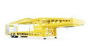 MNtrailers Yellow TLML MNT28 Trailer TRANSPORTER 1:18 for MERCEDES, SCANIA, MAN
