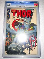 THOR # 156 CGC 9.4 WH - MANGOG & RECORDER APPEARANCE!!   NEW MOVIE COMING SOON!!