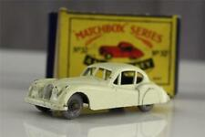 Vintage Matchbox Metal Toy Car No 32 JAGUAR XK-140 A MOKO Lesney Boxed