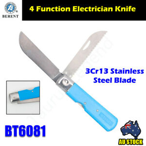 4 in 1 Electrician Knife Stainless Steel Combination Cutting Blade