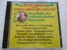 Ernst Mosch, Egerländer Musikanten - Das Beste der volkstümlichen Hitparade - CD