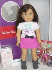 "American Girl Doll 18"" Grace~Bonus Earrings~Book~Pierced Ears~Bracelet Open Box"