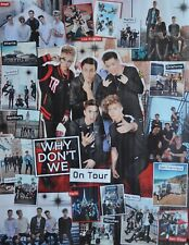 WHY DON´T WE - A2 Poster (XL - 42 x 55 cm) - Clippings Fan Sammlung NEU